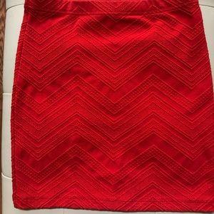 Forever 21 textured pencil skirt